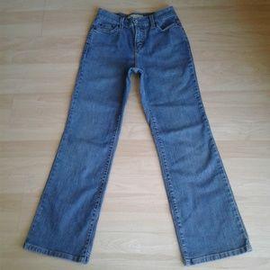 vintage levis 4 short 512 boot cut jeans blue